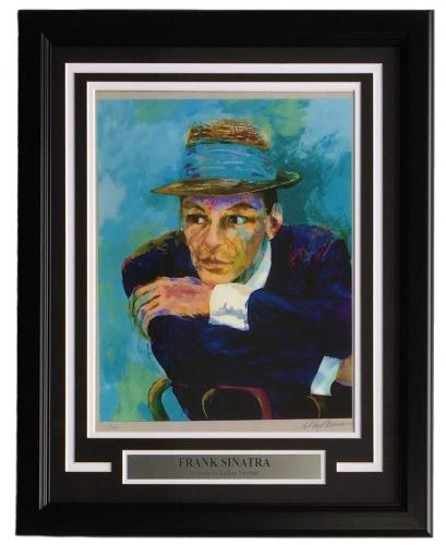 Leroy Neiman Framed 11x14 Frank Sinatra Art Print