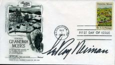 Leroy Neiman Hand Signed Psa/dna Coa 1969 Fdc Authentic Autograph