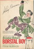 LeRoy Neiman Rare Famous Artist Borstal Boy Signed Hardback Autograph Book