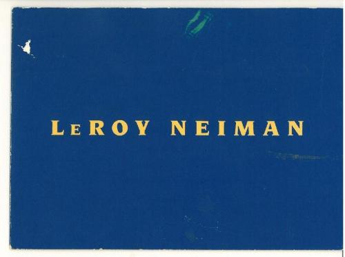 Leroy Neiman Signed Authentic Autographed Gallery Invitation (PSA/DNA) #K03127