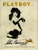 LeRoy Neiman SIGNED Playboy August 1960 Femlin Artist PSA/DNA Letter AUTOGRAPHED