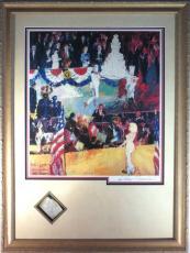 LeRoy Niemann Signed Happy Birthday Mr. President w/ Marilyn Monroe Cut PSA/DNA
