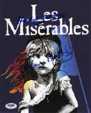 Les Miserables Writers Boublil & Kretzmer Autographed Signed 8x10 Photo PSA/DNA