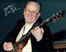 Les Paul Autographed Signed 11x14 Photo Certified Authentic PSA/DNA AFTAL COA