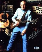 Les Paul Musician Signed 8x10 Photo Autographed BAS #D07551