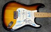 Les Paul Plus Autographed First World Guitar Congress Guitar 8 S AFTAL