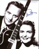 Les Paul Signed 11X14 Photo Autographed PSA/DNA #Q45320