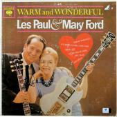 Les Paul Signed Autographed Album Cover Warm and Wonderful JSA U07949