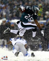 "LeSean McCoy Philadelphia Eagles Autographed 16"" x 20"" Leaping in Snow Photograph"