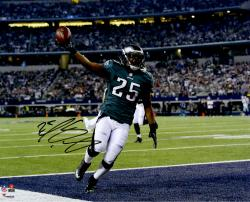 "LeSean McCoy Philadelphia Eagles Autographed 16"" x 20"" Touchdown vs. Dallas Cowboys Photograph"