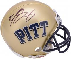 LeSean McCoy Pittsburgh Panthers Autographed Riddell Mini Helmet
