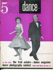 Leslie Caron Fred Astaire Robert Joffrey Ballet Erik Bruhn 1955 Dance Magazine