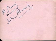 Leslie Howard D.43 Gone With The Wind Signed Jsa Album Page Authentic Autograph