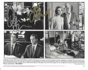 """LESLIE MANN as CORINNE MALONEY and JON STEWART as KEVIN GERRITY in the 1999 Movie """"BIG DADDY"""" Signed by Both 10x8 B/W Photo"""