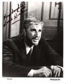 "LESLIE NIELSEN 1969 TV ""TRIAL RUN"" Signed 8x10 B/W Photo"