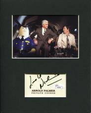 Leslie Nielsen Airplane Dr. Rumack Rare Signed Autograph Photo Display JSA