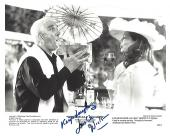 "LESLIE NIELSEN as RYAN HARRISON in 1998 Movie ""WRONGFULLY ACCUSED"" Signed 8x10  B/W  Photo"
