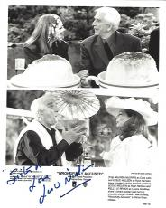 "LESLIE NIELSEN as RYAN HARRISON in ""WRONGFULLY ACCUSED"" Signed 8x10  B/W  Photo"