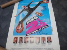 Leslie Nielsen Naked Gun   Hand-Signed Poster     With CertificateOfAuthenticity