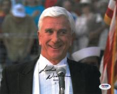 Leslie Nielsen Signed Authentic Autographed 8x10 Photo (PSA/DNA) #V69928