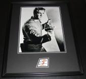 Leslie Nielsen Signed Framed 16x20 Photo Poster Display Forbidden Planet C