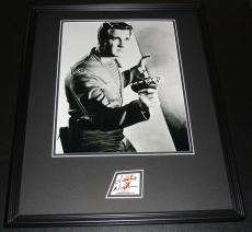Leslie Nielsen Signed Framed 16x20 Photo Poster Display Forbidden Planet C