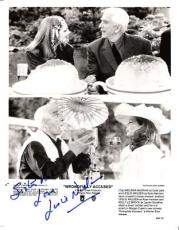 "LESLIE NIELSEN ""WRONGFULLY ACCUSED"" Signed 8x10 B/W"