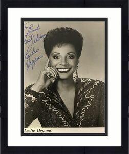 Leslie Uggams Autographed Black & White 8x10 Photo