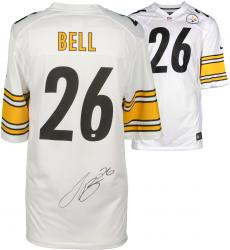 Le'Veon Bell Pittsburgh Steelers Autographed Nike Game White Jersey