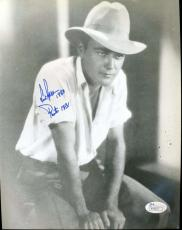 Lew Ayres Jsa Coa Cert Hand Signed 8x10 Photo Authenticated Autograph