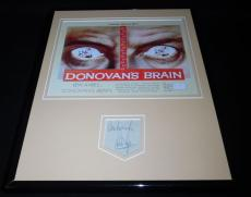 Lew Ayres Signed Framed 11x14 Photo Poster Display Donovan's Brain