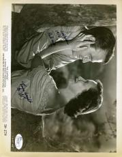 Lew Ayres The Capture Jsa Coa Hand Signed 8x10 Photo Authenticated Autograph