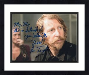 Lew Temple Axel The Walking Dead TV Show Signed 8x10 Photo w/COA