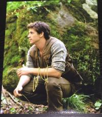 LIAM HEMSWORTH SIGNED AUTOGRAPH HUNGER GAMES CLASSIC GALE FOREST 8x10 PHOTO COA