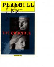 Liam Neeson Autographed Signed Crucible Playbill AFTAL