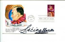 Licia Albanese Opera Soprano Singer Rare Signed Autograph FDC