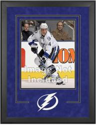 "Tampa Bay Lightning Deluxe 16"" x 20"" Vertical Photograph Frame - Mounted Memories"