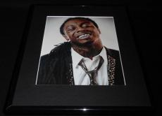 Lil Wayne 2011 Smiling Framed 11x14 Photo Display