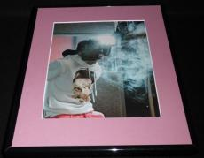 Lil Wayne 2011 Smoke Cloud Framed 11x14 Photo Display