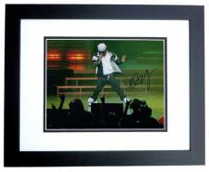 Lil Wayne Signed - Autographed Concert 11x14 inch Photo BLACK CUSTOM FRAME - Guaranteed to pass PSA or JSA aka WEEZY