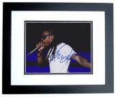 Lil Wayne Signed - Autographed Concert 8x10 inch Photo BLACK CUSTOM FRAME - Guaranteed to pass PSA or JSA
