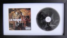 Lil Wayne Dwayne Carter Signed REBIRTH Cd Framed JSA