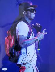 Lil Wayne Dwayne Carter Young Money Signed 11x14 Photo JSA