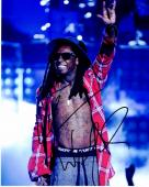 Lil Wayne Signed - Autographed Rap Concert 8x10 inch Photo - Guaranteed to pass PSA or JSA