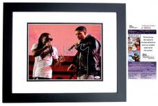 Lil Wayne Signed - Autographed Rapper - Concert 11x14 inch Photo as WEEZY BLACK CUSTOM FRAME - JSA Certificate of Authenticity
