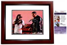 Lil Wayne Signed - Autographed Rapper - Concert 11x14 inch Photo as WEEZY MAHOGANY CUSTOM FRAME - JSA Certificate of Authenticity