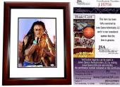 Lil Wayne Signed - Autographed Rapper - Concert 11x14 inch Photo - MAHOGANY CUSTOM FRAME - JSA Certificate of Authenticity