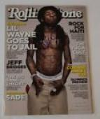 Lil Wayne Signed Autographed Rolling Stone Magazine Weezy COA VD