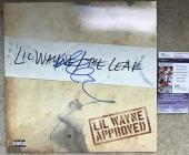 Lil Wayne Signed   Autographed The Leak Album   LP - JSA Certified