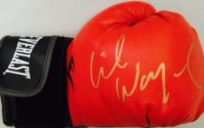 Lil Wayne Signed Everlast Red Boxing Glove Guaranteed Authentic Weezy Gold